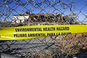 Superfund hazardous substance cleanup site