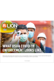 What OSHA COVID-19 Enforcement Looks Like