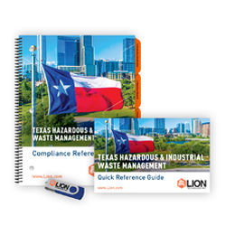 Texas hazardous waste RCRA training manuals