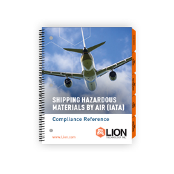 IATA DGR hazmat training air shipper manual