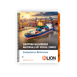 IMDG Code hazmat training manual