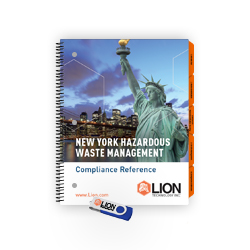NY RCRA hazardous waste training manual