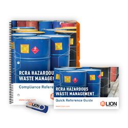 Texas RCRA hazardous waste training manual