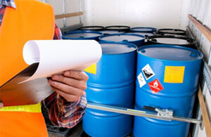 Shipping Hazardous Waste Drums