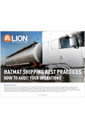 Hazmat Shipping Best Practices