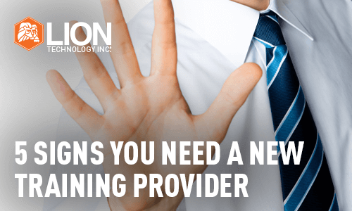 5 Signs You Need A New Training Provider