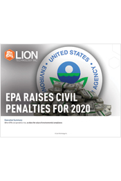 EPA Raises Civil Penalties for 2020