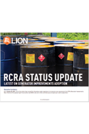 RCRA Status Update: New Hazardous Waste Rules