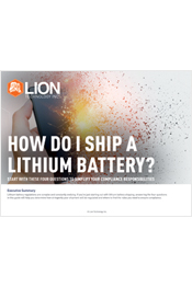 How Do I Ship A Lithium Battery