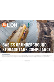 Basics of Underground Storage Tank Compliance