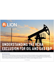Understanding the RCRA Exclusion for Oil and Gas