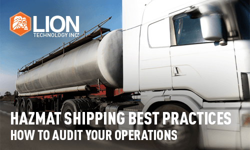Hazmat Shipping Best Practices How to Audit Your Operations