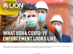 COVID-19 OSHA Enforcement Report