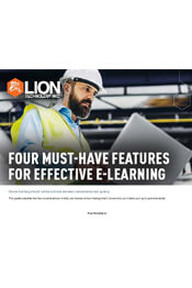 4 Must-Have Features for Effective e-Learning