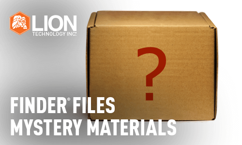 Finder Files: Mystery Materials