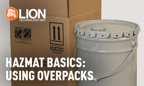Hazmat Basics: Using Overpacks