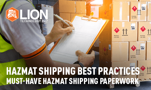 Must-have Hazmat Shipping Paperwork