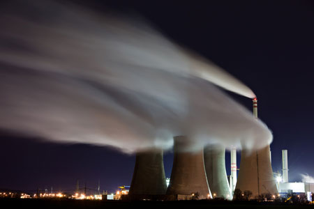 Clean Air Act rules for carbon dioxide air emissions from power plants
