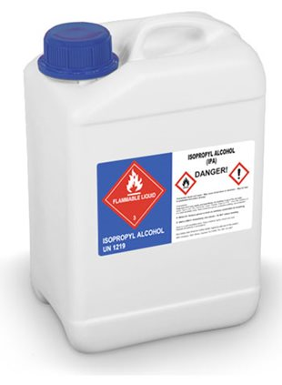 GHS hazard communication chemical labels