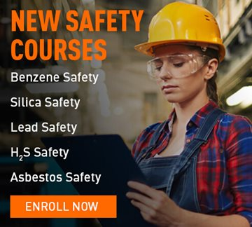 New OSHA safety training courses